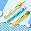 Cute professional ceramic mini hair straightener in china flat iron