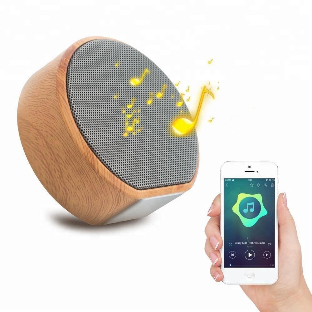 Portable Grain de Bois Extérieur Stéréo Mini Bluetooth Haut-Parleur Sans Fil - ANKUX Tech Co., Ltd