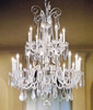 maria theresa wedding crystal chandelier centerpieces chandelier