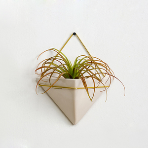 Wholesale Triangle Hanging Half Wall Flower Pots