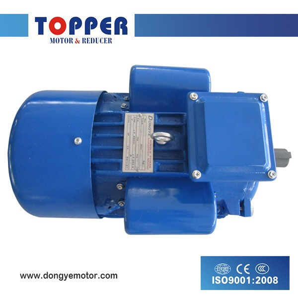 YC series 1.5KW 2HP single phase capacitor start induction motor cooper wire
