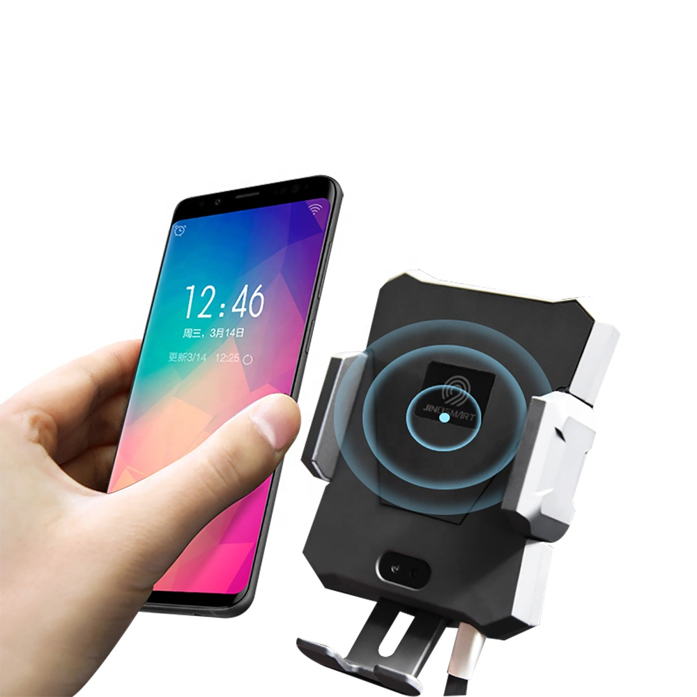 10W qi Gravity intelligent air vent mounted car wireless charger <strong>Auto</strong> Sensing Infrared type-c port car charger