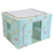 Houseware Double Windows Multipurpose Stainless Storage Box Organizer