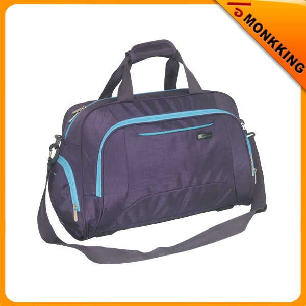 600D ripstop printing duffle bag travel bag