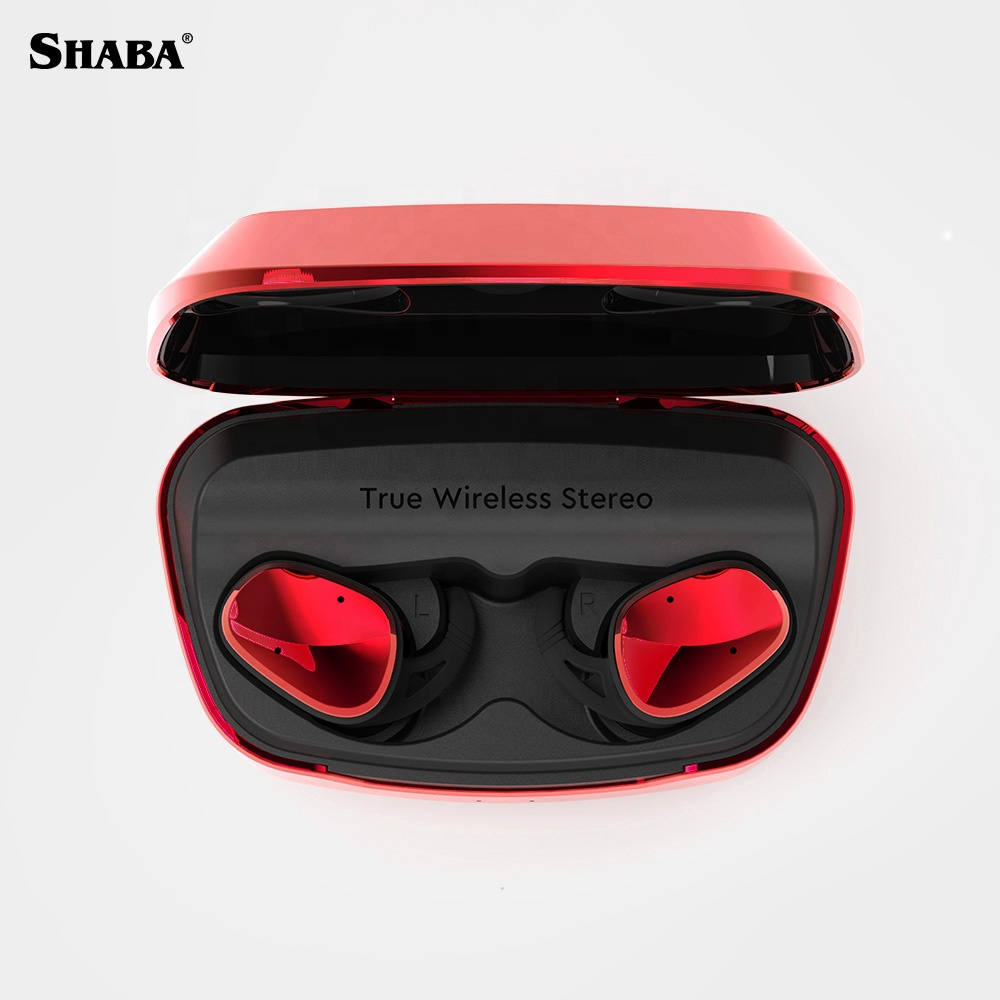 2019 SHABA Innovative Product Bluetooths V5.0 <strong>electronics</strong> True Wireless Stereo Earphone with Power Bank Headphones
