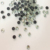 0730 China rhinestone factory 2 cut mcahine cut hot fix rhinestones in bulk for clothing