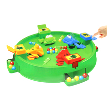 Amazon custom kids interactive play toy plastic jumping hungry leap frog desktop board <strong>game</strong>