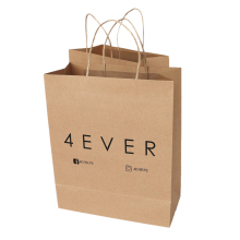 Recycled high quality popular advertising logo paper <strong>bag</strong> making