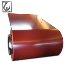 Prepainted Galvanized Steel Coil GI Material Iron and Steel <strong>Flat</strong> Rolled Products