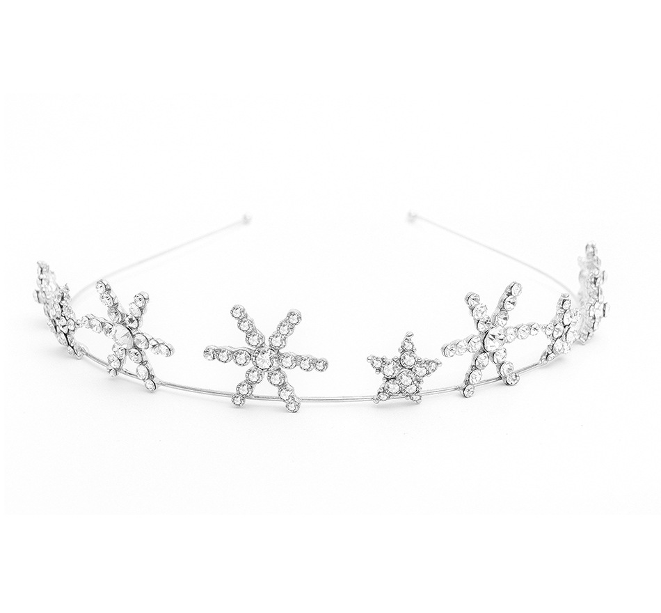 Star crown hot selling <strong>hairs</strong> hoop bride wedding dress <strong>hair</strong> band <strong>hair</strong> <strong>accessories</strong>