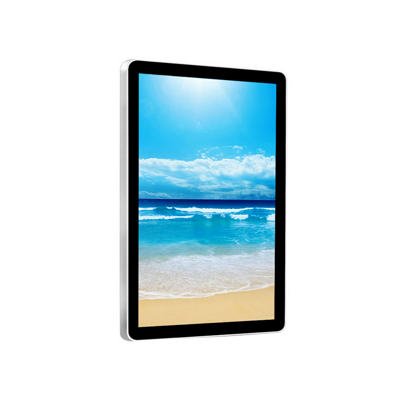 Lcd Double Screen ad displayer android 22 / 21.5 inch 2018 New Fanless Intel Window For <strong>Advertising</strong>