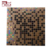 Foshan GUCI mixed black and gold glow floor mosaic tiles design bathroom ceramic mosaic wall tiles