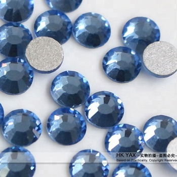 G0831SS16 4MM Lt.sapphire DMC crystal hotfix rhinestone, cheap DMC crystal hotfix rhinestone, DMC strass for garment