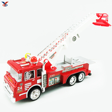 New popular hot sale children fire truck fire engine toy child fire truck