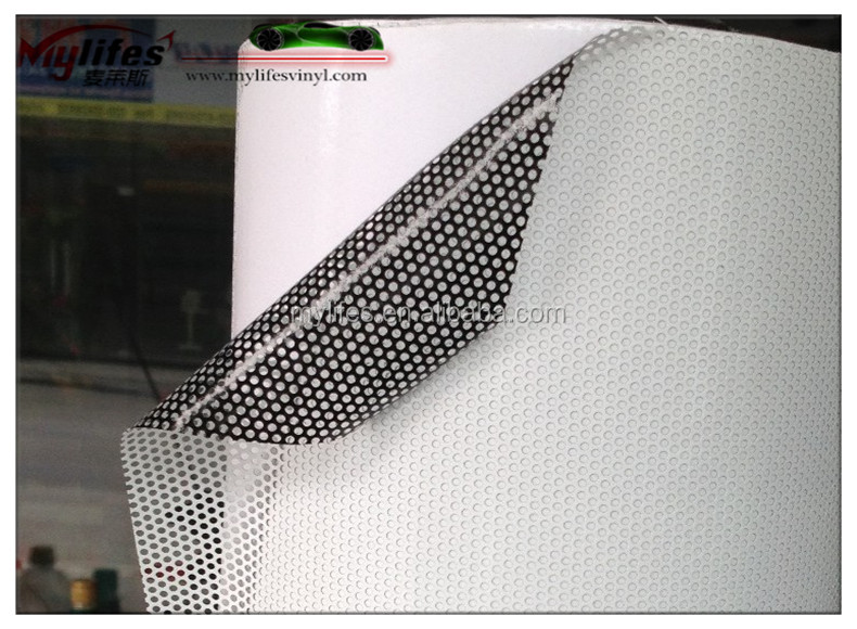 Perforated Vinyl One Way Vision Fim One Way Vision Foil