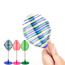 New design creative model puzzle decompression toy stress relief rotating lollipop plastic toy