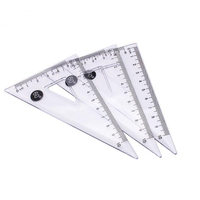 Custom Logo Promotional Good Price Art Tool 15Cm 30Cm Triangle Scale Ruler