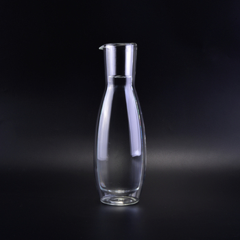 Glass wind decanter luxury waterfall decanter glass vase high borosilicate