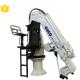 ship crane small lifting capacity for boat/yacht material handling