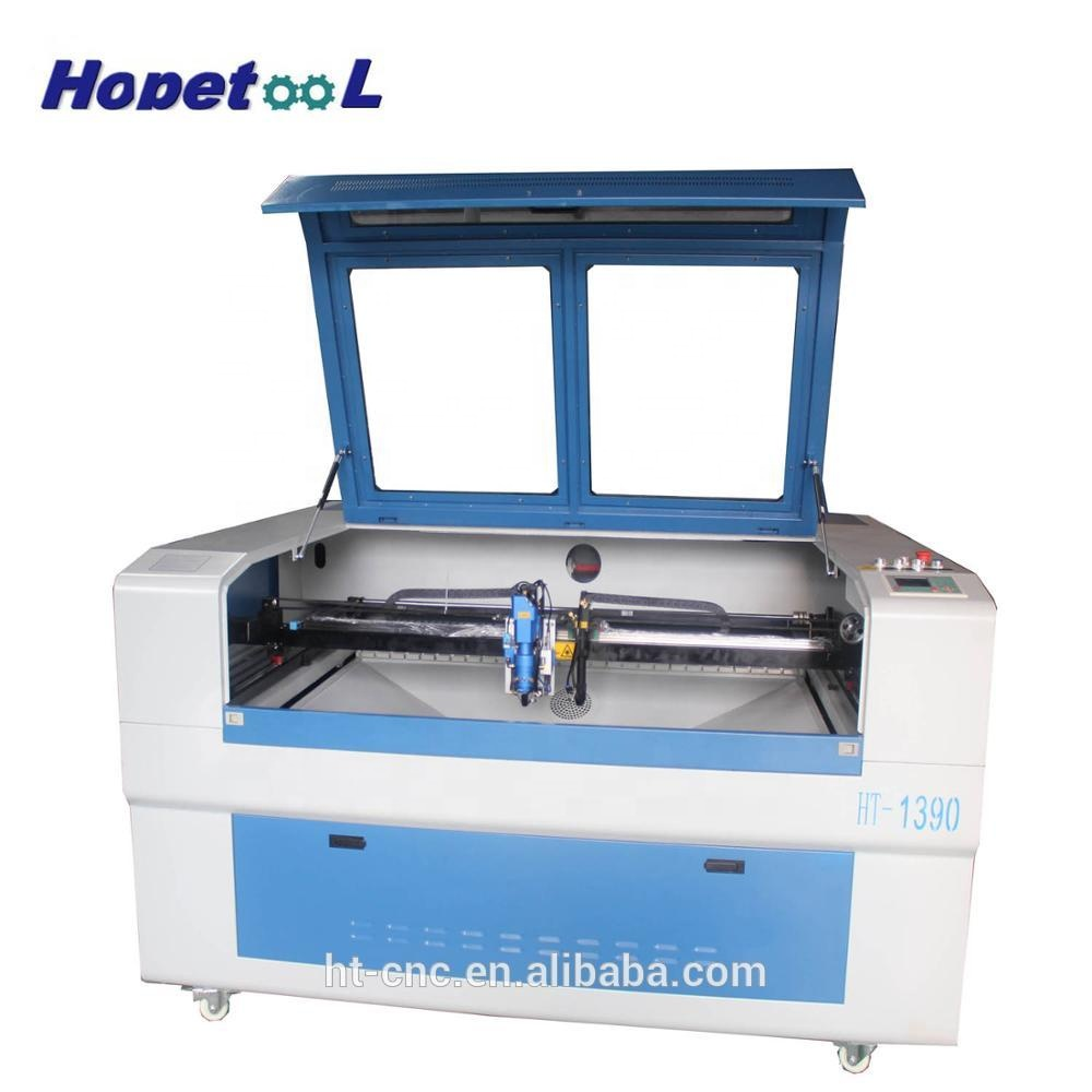 two heads 300W co2 laser head 1390 laser wood and metal <strong>cutting</strong> and engraving machine