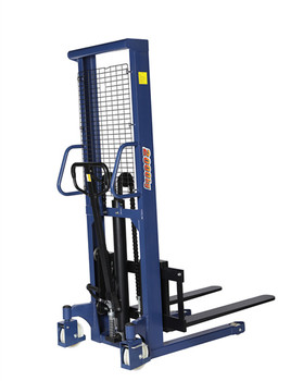 2000kg 2 ton hydraulic manual hand pallet stacker for sale