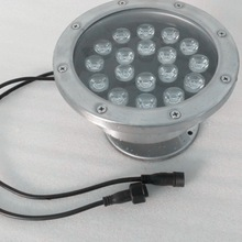 Low price high quality18x8W Underwater Rgbw IP68 Stainless steel 12V/24V Led for pool boat yacht led pool underwater lights