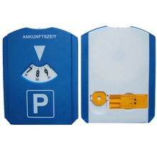 3 in 1 OEM automatic parking meter plastic parking disc with ice scraper