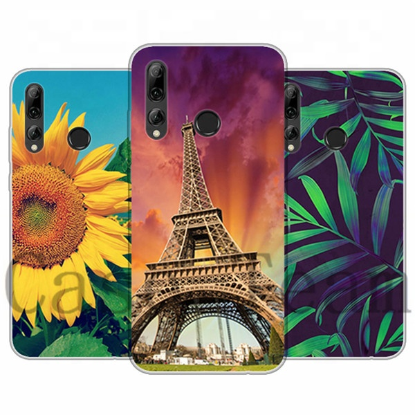 Mobile Phone Case for Huawei <strong>P</strong> smart plus 2019, Free Shopping, Cartoon Flower Cover for Huawei <strong>P</strong> smart plus 2019 case