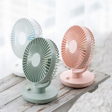 Newest Design Battery Operated Rotating Desktop Usb Mini <strong>Fan</strong> Portable