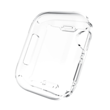 Hot Selling Clear Full TPU Cover Watch Case for Apple Watch iWatch 38mm 42mm 40mm 44mm