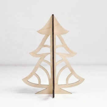 umbrella christmas tree wood christmas tree
