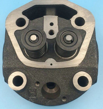 diesel engine spare parts single cylinder S195 cylinder head with decompressor