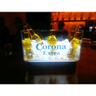RGB color changing led ice bucket,led ice cooler