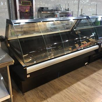 deli case for fresh meat and cooked fooddisplay commercial refrigerated SSG-N intergrated