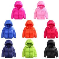 Autumn and winter children's down jacket light and comfortable men and women children's clothing warm and light