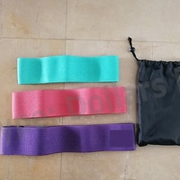 New Arrival Non Slip Elastic Loop Band Hip Resistance Circle