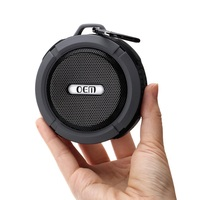 Mini Wireless shower speaker Portable IPX4 waterproof speaker
