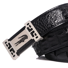 Classic design genuine exotic reptile leather real crocodile leather men <strong>belt</strong>