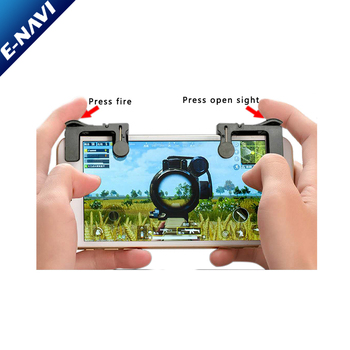 Smartphone Clamp Game Clip Shoot Fire Button Aim Key Joystick Game Controller