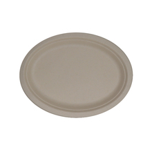 12inch chinese supplier eco-green disposable compostable wheat straw pulp paper <strong>plate</strong>