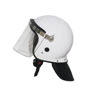 High quality police safety anti riot helmet