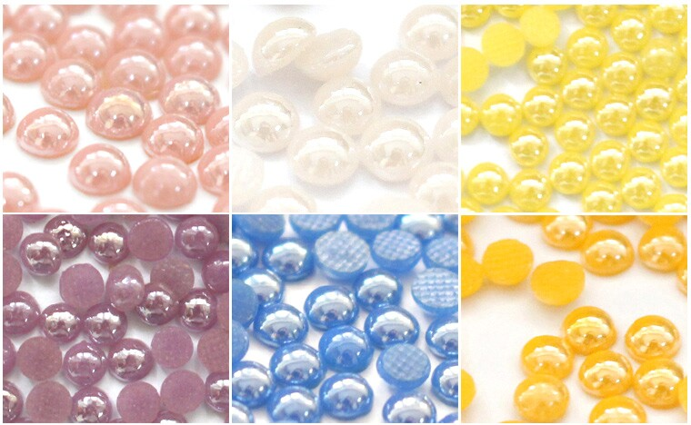 Y0917 It pink ceramic rhinestone for nail art hotfix ceramic rhinestone for nail art,pearls transfer 2mm 3mm 4mm