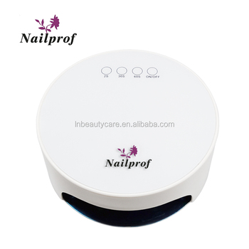 Nailprof 36W 21LEDs nail lamp with 20s/30s/60s timer setting