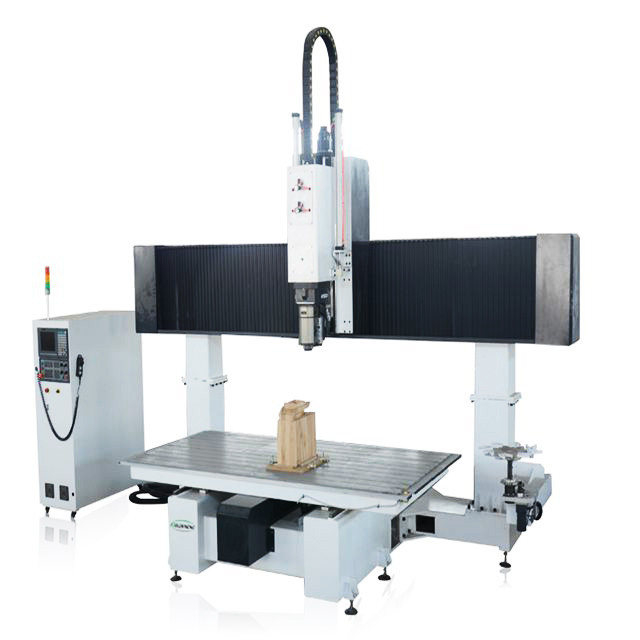China Manufacturers Mini 5 Axis Diy CNC Router Machines Wood Cutting Woodworking Machinery