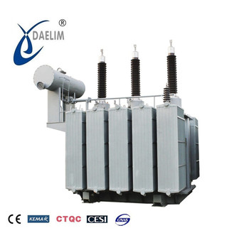 Three phase oil-filled with ISO oltc 115kv 160 mva transformer