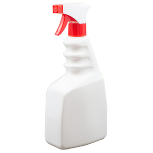 28/410, 750ml 25oz HDPE clean plastic bottle trigger spray bottle with finger handle
