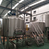2000L Stainless Steel beer factory equipment with brewhouse system and fermenter