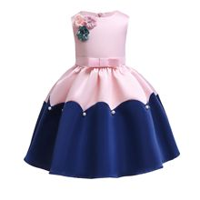 Wholesale new arrivals children casual <strong>dress</strong> fashion assorted colors solid sleeveless <strong>girl's</strong> <strong>dresses</strong>