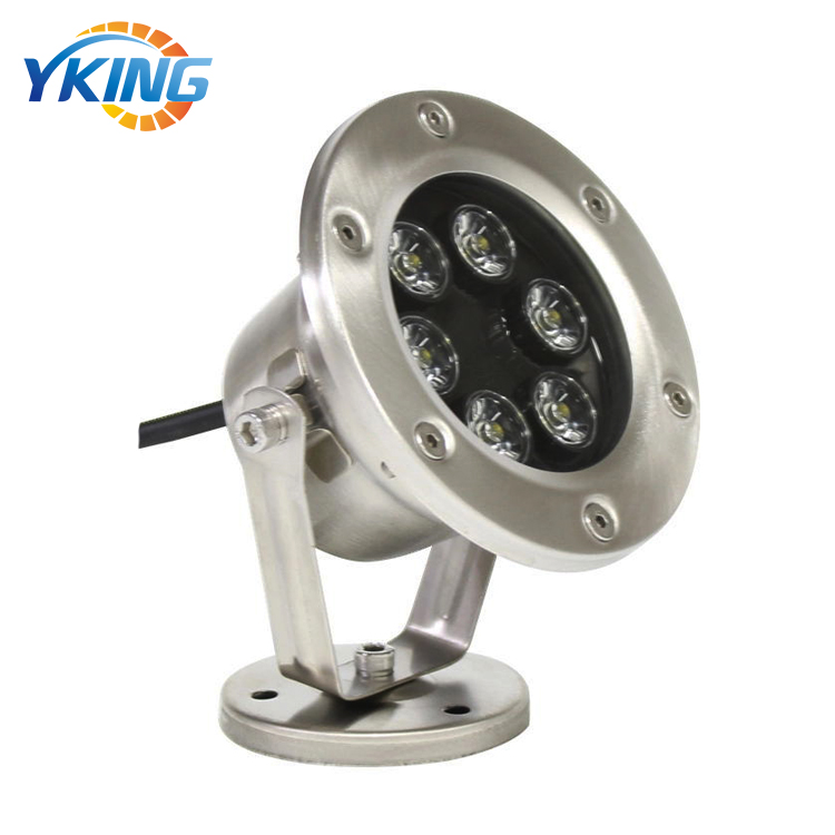 CE RoHS 304 Stainless Steel IP68 6W RGB 12V Underwater AC DC <strong>LED</strong> <strong>Lights</strong> for Fountain
