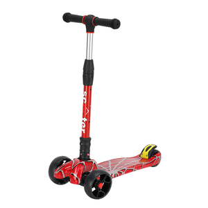 High Quality Cheap Folding Kids Scooter Kick scooter with Led Wheel Light